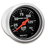 Auto Meter 3320 Sport-Comp Mechanical Air Pressure Gauge