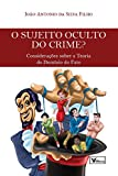 O Sujeito Oculto do Crime?: Considerações Sobre a Teoria do Domínio do Fato