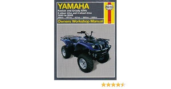 yamaha yfm400fwg mnh atv parts manual catalog download 1995