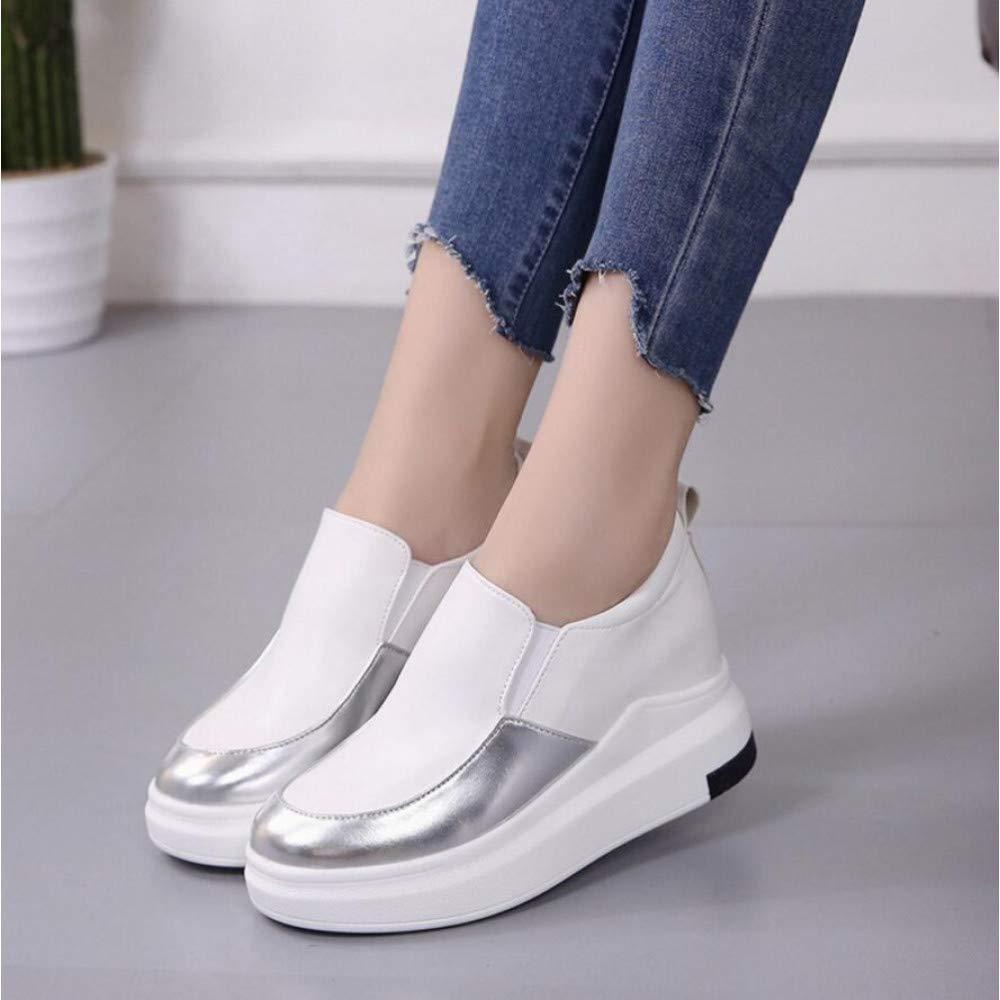 GUNAINDMX Kreative Sportschuhe Frauen Weibliche Mode Lässig Atem Walking Flache Flache Flache Schuhe 6cd770