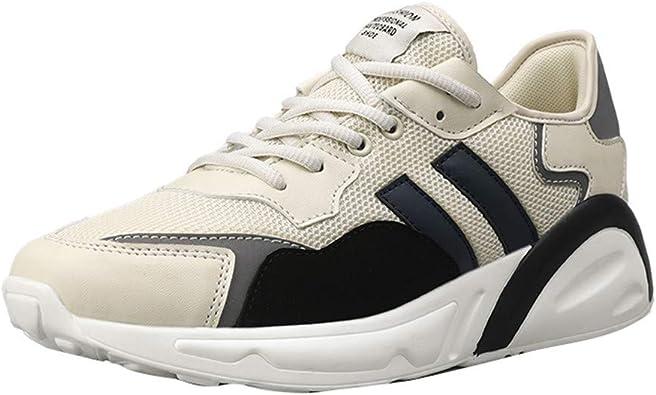 Zapatillas de Deporte Unisex Adulto Zapatillas Running para Hombre Aire Libre y Deporte Transpirables Casual Zapatos Gimnasio Correr Sneakers: Amazon.es: Zapatos y complementos