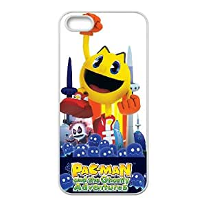 iPhone 5 5s Cell Phone Case White PAC MAN and the Ghostly Adventures SU4369701