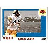 2003 Topps All American #130 Dallas Clark RC Rookie Card IOWA HAWKEYES