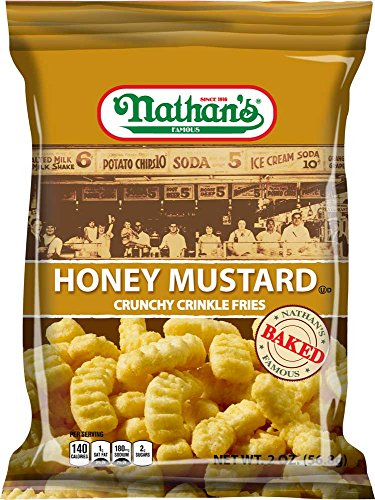 Honey Mustard Fry, 2 Ounce -- 6 per case. (Crinkle Cut Fries)