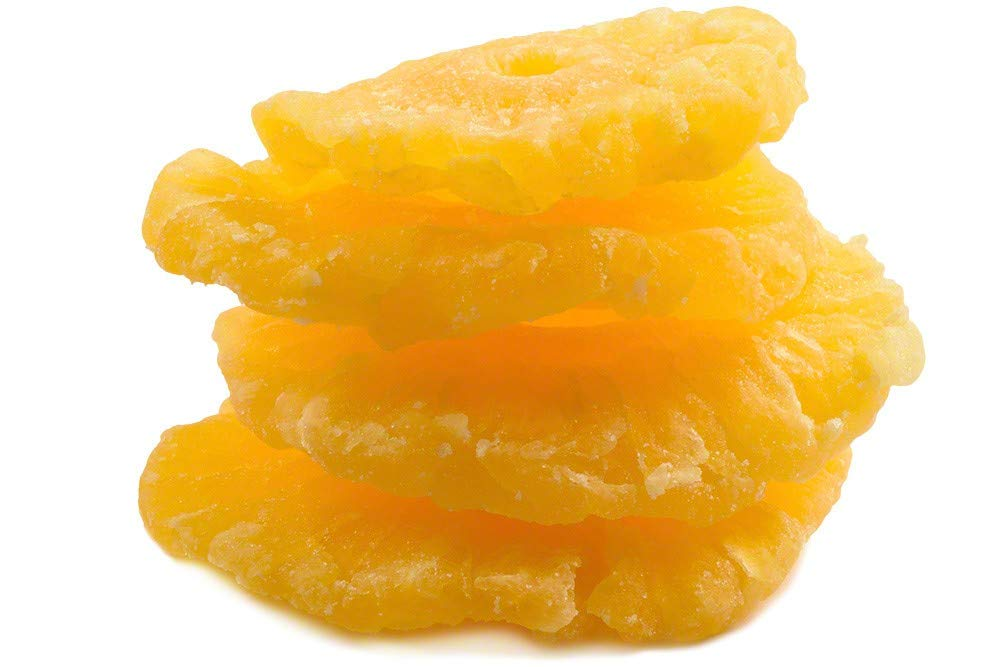 Dried Pineapple Rings (15lb Case ) by Nutstop.com