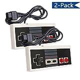 Veanic 2-pack Classic Replacement NES Wired 8-Bit Controller for Nintendo Original NES, Super Retro Trio & Retro Entertainment System