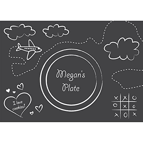 Hoffmaster Group 863406 Chalkboard Placemats