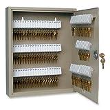 MMF Industries 110-Key Uni-Tag Single-Tag Key Cabinet with Key Lock (201911003)