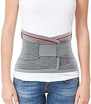 ORTONYX Lumbar Support Belt Lumbosacral Back Brace – Ergonomic Design and Breathable Material / ACKB724