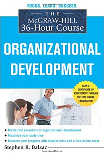 buy the mcgraw-hill 36-hour course: organizational development ...
