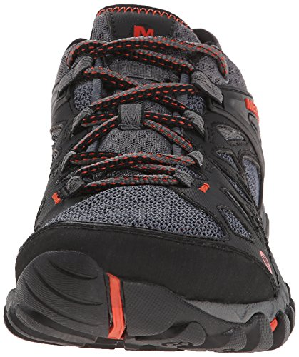 Merrell Men's All Out Blaze Aero Sport Hiking Water Shoe, Black/Red, 7.5 M US by Merrell (Image #4)