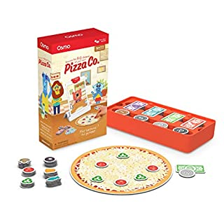 Osmo - Pizza Co. - Ages 5-12 - Communication Skills & Math - For iPad or Fire Tablet (Osmo Base Required)