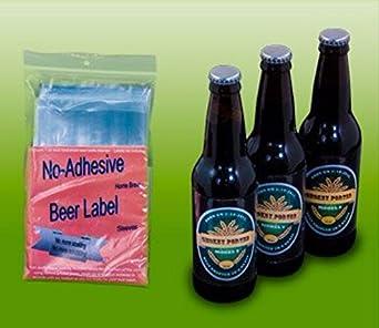 amazon com home brew beer label for 12 oz bottles industrial