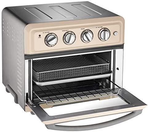 Cuisinart TOA-60CRM Convection Toaster Oven Airfryer, Cream