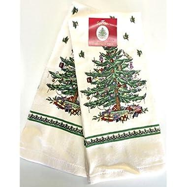 Spode Christmas Tree Kitchen Towel - Set of 2 (Full Tree)