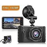 CHORTAU Dash Cam Front and Rear FHD 1080P Car Camera Recorder 2020 New Version Dashboard Camera 3.2 Inch Dual Dash Cameras with Backup Camera, Super Night Vision, Parking Monitor, Loop Recording