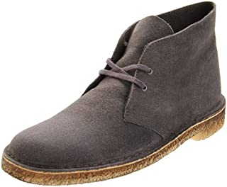 Clarks Originals Men's Desert Boot,Grey Distressed,8 M US (B0014RU9A4) | Amazon price tracker / tracking, Amazon price history charts, Amazon price watches, Amazon price drop alerts