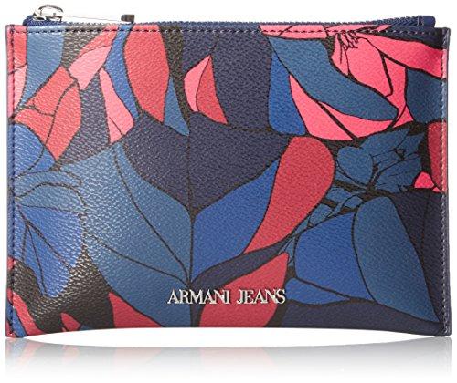 Armani Jeans Pochette Handtasche Damen Tasche Clutch Neublu