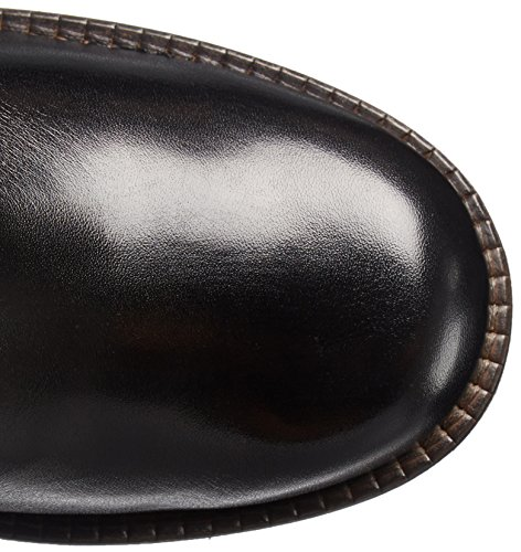 Women's Leather Boot Motorcycle Tarrad Dune Black London qS5wzYyxA