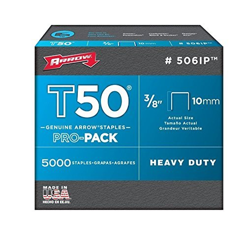 Arrow Fastener 506IP 3/8'' T50 Staples