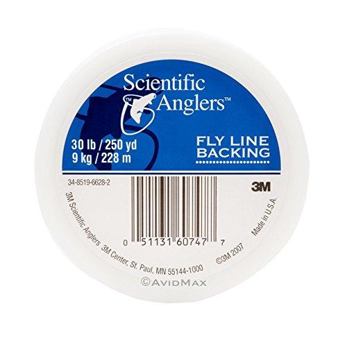 Scientific Anglers Dacron Backing - Scientific Anglers Fly Line 250 yd Dacron Backing, White, 30#