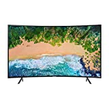 "Samsung UN55NU7300FXZC Curved 55"" 4K Ultra HD Smart LED TV (2018), Charcoal Black [CA Version]"