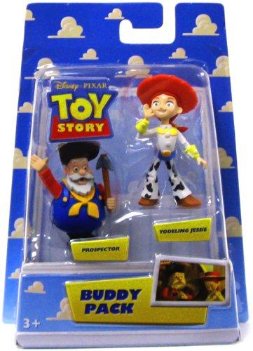 Disney / Pixar Toy Story Mini Figure Buddy Pack Prospector & Yodeling Jessie