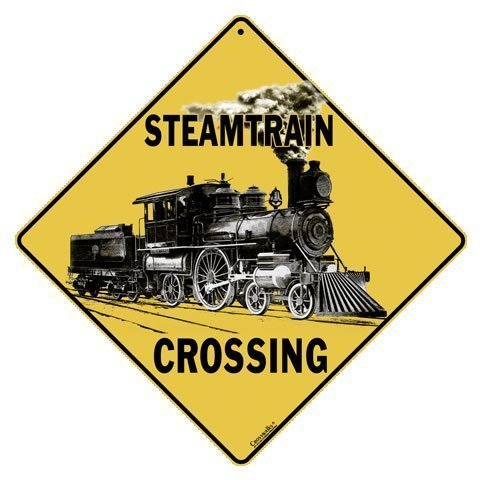 CROSSWALKS Steam Train Crossing 12