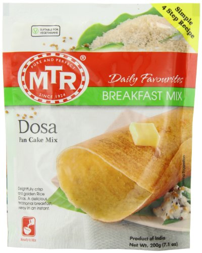 MTR Dosa Pan Cake Mix, 7.1 ounces (Pack of 30) (Best Dosa Pan In India)