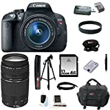 Canon EOS Rebel T5i 18.0 MP CMOS Digital Camera with EF-S 18-55mm f/3.5-5.6 IS STM Zoom Lens and EF 75-300mm f/4-5.6 III