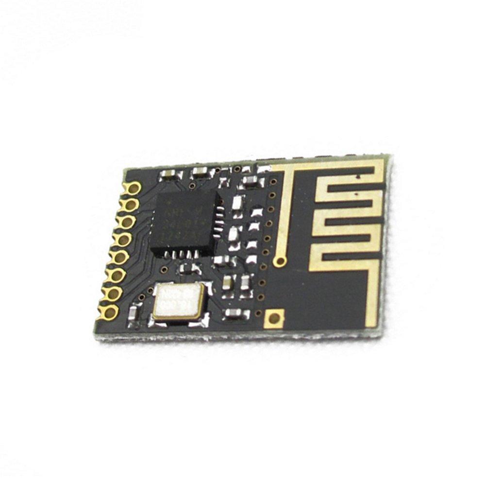 Demarkt Verbesserte Leistungsmodul Mini-Modul NRF24l01 Schwarz
