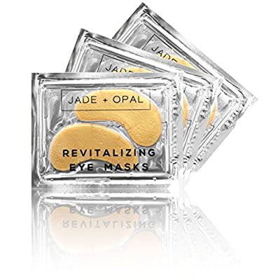 Jade and Opal Gold Collagen Revitalizing Eye Mask, 20 Pairs (Pack of 1)