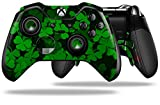 St Patricks Clover Confetti - Decal Style Skin fits Microsoft XBOX One ELITE Wireless Controller (CONTROLLER NOT INCLUDED)