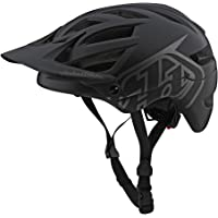 Troy Lee Designs Youth Kids | All Mountain | Mountain Bike Half Shell A1 Helmet Classic W/MIPS (Black, Youth)