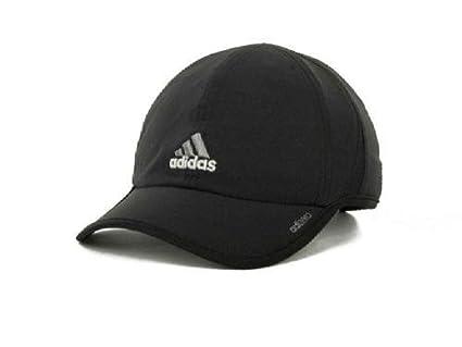 1e6bd2a7e98af Amazon.com  adidas Men s Adizero Stretch Cap (Black Grey