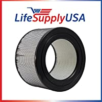 Filter fits Honeywell 22500 HEPA Enviracaire Air Purifier EV-25 62500 83236 83256 by LifeSupplyUSA