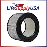 LifeSupplyUSA Filter fits Honeywell 22500 HEPA Enviracaire Air Purifier EV-25 62500 83236 83256 Review