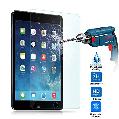 Tempered Glass for Apple iPad Mini | iPad Mini 2 | iPad Mini 3, Case Army® Premium Ballistic Glass Screen Protector - Protect Your Screen from Scratches and Drops - 99.99% Clarity and Touchscreen Accuracy, Highest Quality Premium Anti-Scratch, Bubble-free, Reduce Fingerprint, No Rainbow, Washable Screen Protector and Easy to Install Product for iPad Mini | iPad Mini 2 | iPad Mini 3 Generation