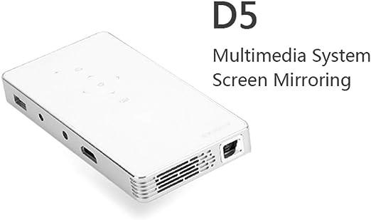 KAIDILA Proyector, Android 7,1 DLP proyector d5s, WiFi Incorporado ...