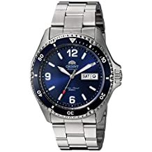 Orient Men's 'Mako II' Japanese Automatic Stainless Steel Diving Watch, Color:Silver-Toned (Model: FAA02002D9)