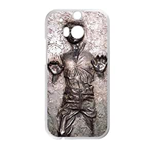 Happy Han Solo Carbonite Cell Phone Case for HTC One M8