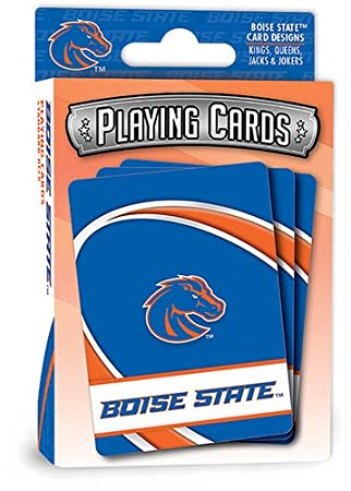 Amazoncom Masterpieces Ncaa Boise State Playing Cards Toys Games