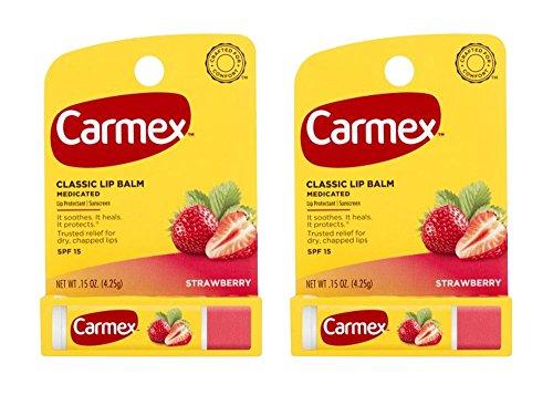 Carmex Lip Balm Stick, Strawberry 24
