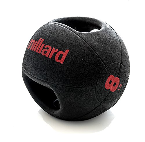 Milliard Double-Grip Medicine Ball - 8lb.