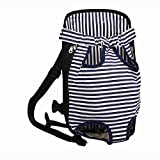 HENREK Legs Out Front-facing Pet Dog Carrier Bag Backpack for Small Dog Cat Lightweight and Safe (S)