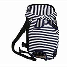 HENREK Legs Out Front-facing Pet Dog Carrier Bag Backpack for Small Dog Cat Lightweight and Safe (XL)