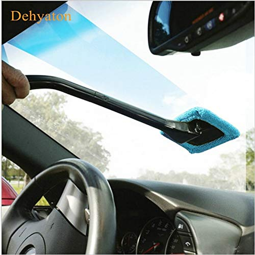 DAVITU Car Electrical Appliances Vacuum Cleaner 2018 Microfiber Auto Window Cleaner Windshield Fast Easy Shine Brush Handy Washable Cleaning Tool Cleaning Brushes