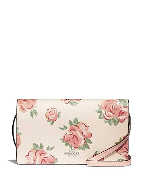 Amazon.com: Coach F67506 Hayden - Embrague de cruz plegable ...