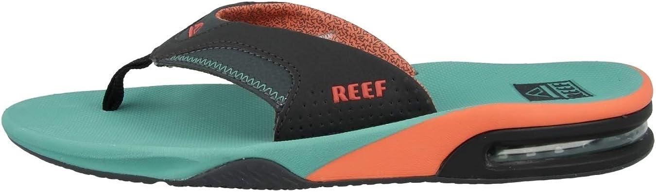 Reef Fanning Black/Silver, Chanclas Unisex: Amazon.es: Zapatos y complementos