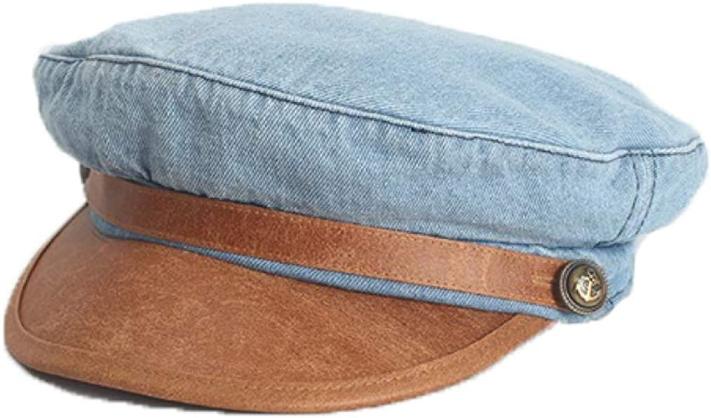 Vintage Denim Newsboy Caps...